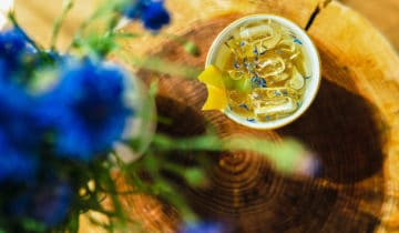 Drinks mit Tee – French 73